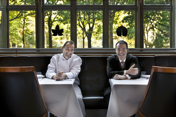 Daniel Humm (right) and Will Guidara (right). (Photo by Francesco Tonelli)
