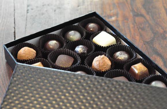 The Constellation Chocolate Collection. (Photo courtesy of IfOnly.com)