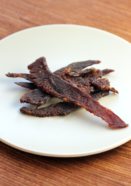 Look closely and you'll see real orange peel on this variety of Jeff's Famous Beef Jerky.