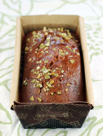 Gluten-free pumpkin bread.