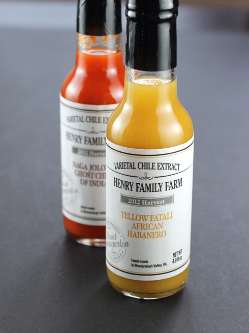Artisan hot sauces that explode on the palate.