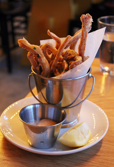 Do order the crispy pig ears. You won't regret it.