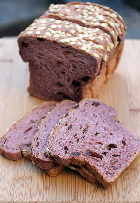 Purple Country Bread from the new line of baked goods from Sunsweet.