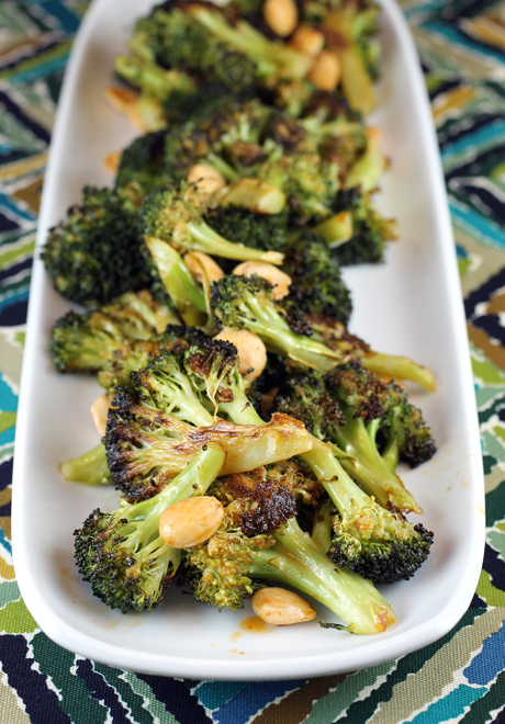 Roasted broccoli with a smoky-sweet paprika dressing.