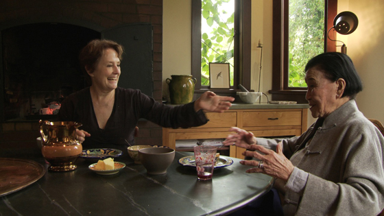 "Alice Waters and Cecilia Chiang in a scene from ""Soul of a Banquet.'' (Still courtesy of the San Francisco Film Festival)"