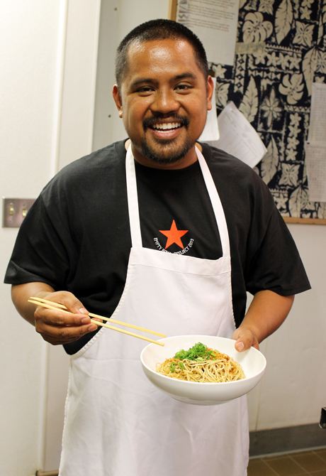 Chef Sheldon Simeon of Star Noodle in Maui.