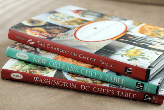 Cookbooks spotlighting iconic foodie cities. Soon, there will be a San Francisco one, written by yours truly.
