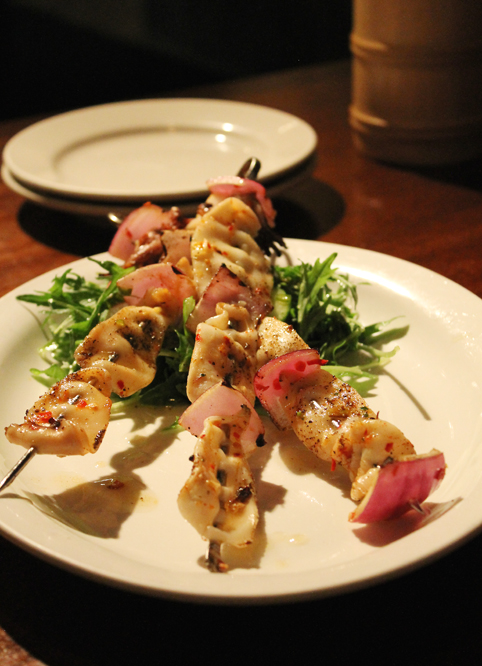 Grilled Monterey calamari at Betelnut-turned-Hutong-turned-Betelnut.