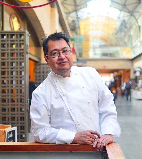 Chef Dave Cruz will be cooking in Oakland. (Photo courtesy of the chef)
