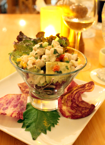 OK, I am hooked on ceviche. Can you blame me?