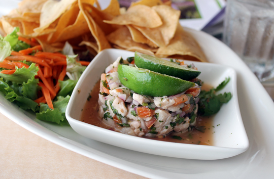 Or done ceviche-style.