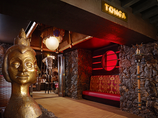Enjoy a beachy celebration at the Tonga Room. (Photo courtesy of the Fairmont San Francisco)