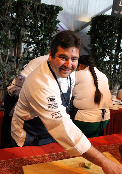 Chef Jeff Banker of Baker and Banker in San Francisco.