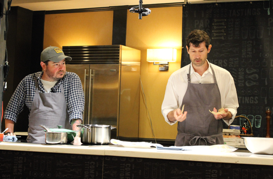 Chefs Sean Brock and Daniel Patterson discuss how water -- how much of it or how little of it -- affects the nature of cooking.