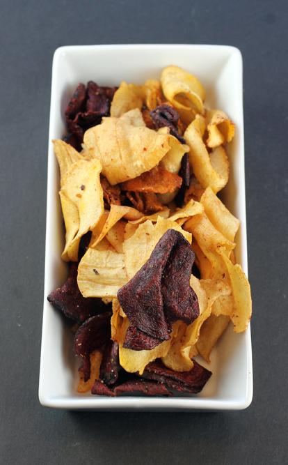 Tyrrells veggie chips.