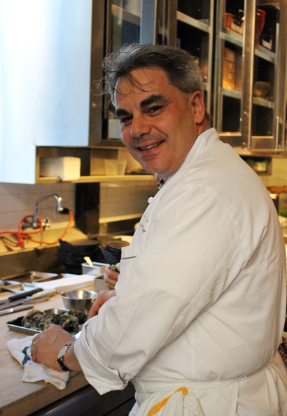 Chef Gabriel Kreuther of The Modern in New York City.