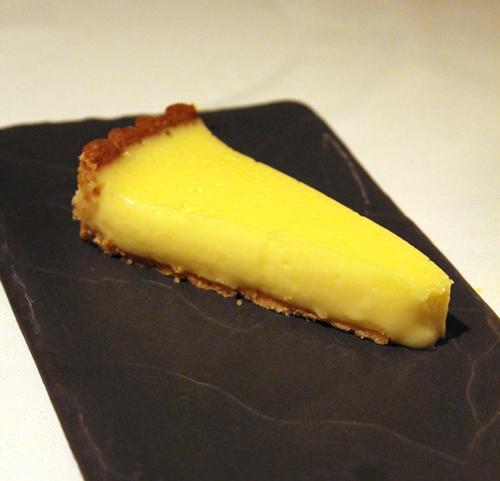 Citron tart.
