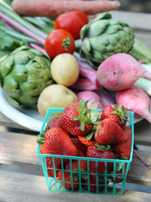 Beautiful local produce delivered right to your door with FarmBox SF