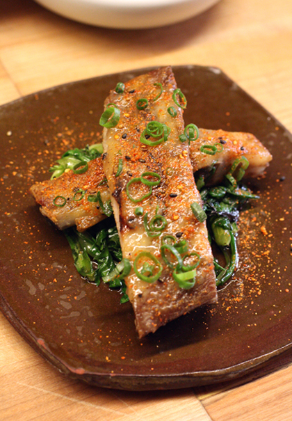 These ribs are one of the most popular dishes at State Bird Provisions. You can find the recipe in my cookbook.