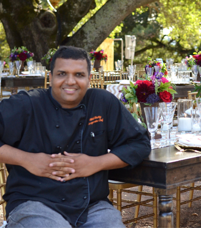 Executive Chef Vittal Shetty. (Photo courtesy of Amber India)