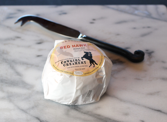Cowgirl Creamery's Red Hawk cheese.