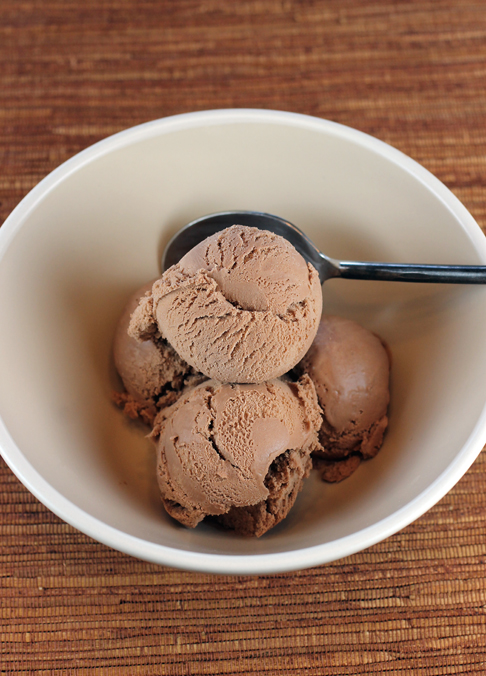 """Gotta Do Chocolate'' NadaMoo! dairy-free ice cream."