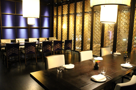 A private dining room. Hakkasan San Francisco   Food Gal