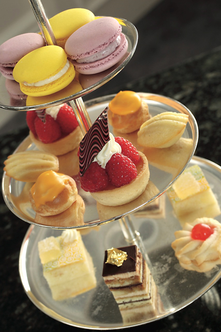 Afternoon tea hits the spot during the holidays. (Photo courtesy of the Ritz-Carlton)