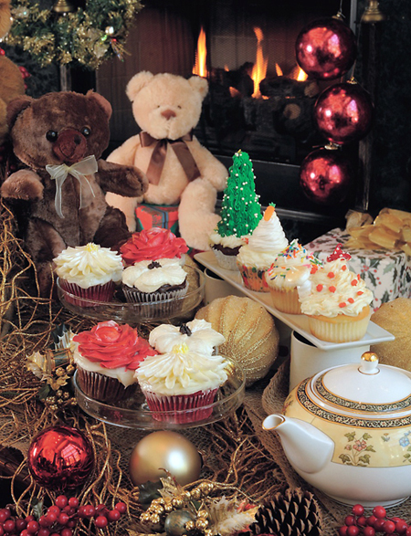 Aww,  how cute is this Teddy Bear Tea? (Photo courtesy of the Ritz-Carlton)
