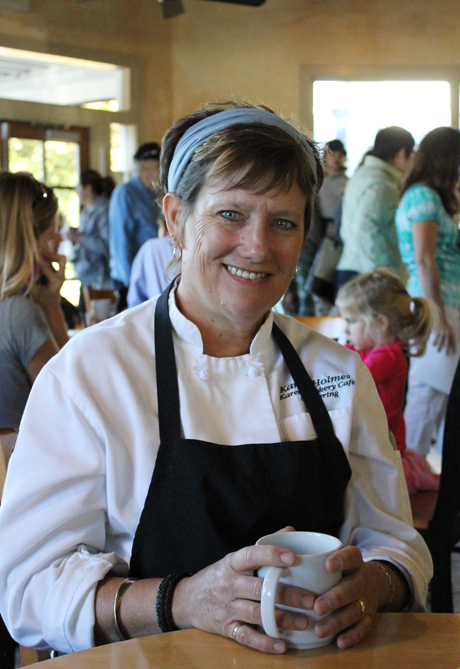Karen Holmes of Karen's Bakery & Cafe in Folsom.
