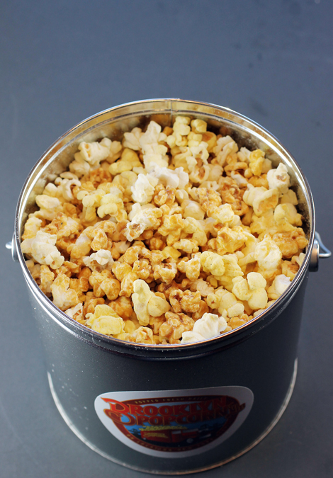 "The ""New York Mix'' from Brooklyn Popcorn."