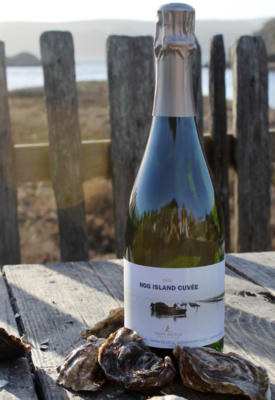 Hog Island Cuvee (Photo courtesy of Iron Horse Vineyards)