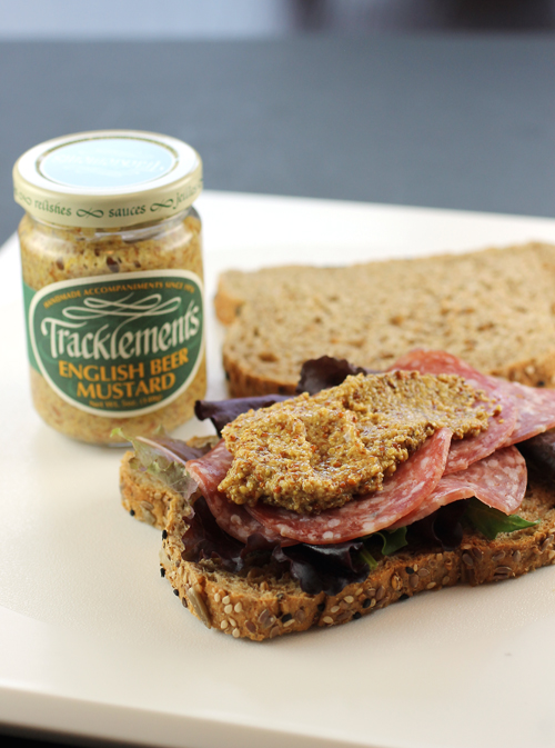 Tracklements Beer Mustard livens up any sandwich.