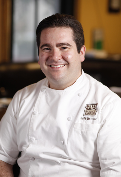 Chef Jeff Banker. (Photo courtesy of Baker & Banker)