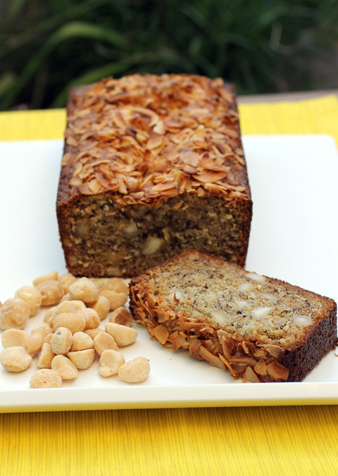 Coconut banana macadamia nut -- a taste of Hawaii in your own home.