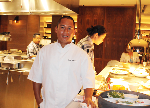 Chef Isaac Bancaco oversees the new Ka'ana Kitchen on Maui.