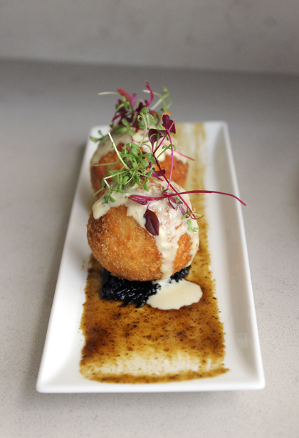 A Japanese take on arancini.