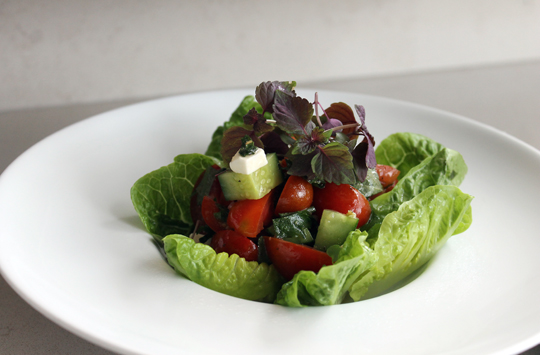 An Asian spin on Greek salad.