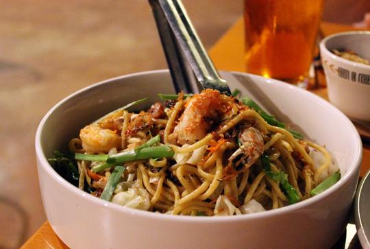 Pancit noodles.