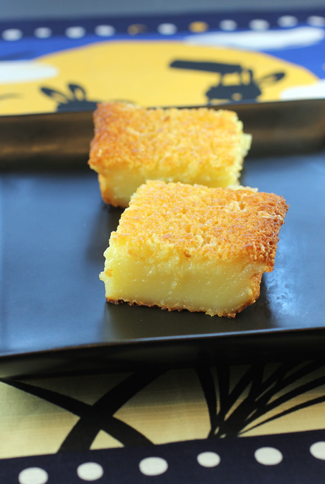 Butter mochi -- my downfall.