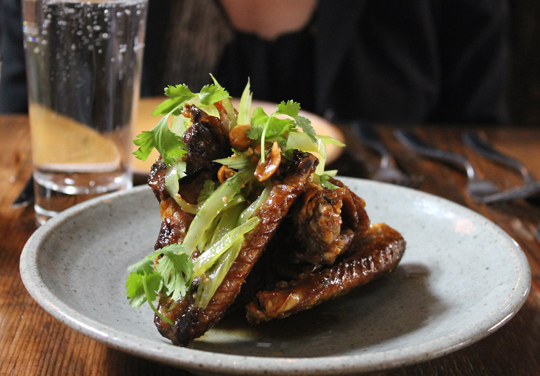 Bring on the smoked duck wings.