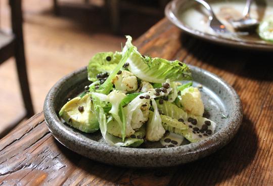 Little Gem salad.