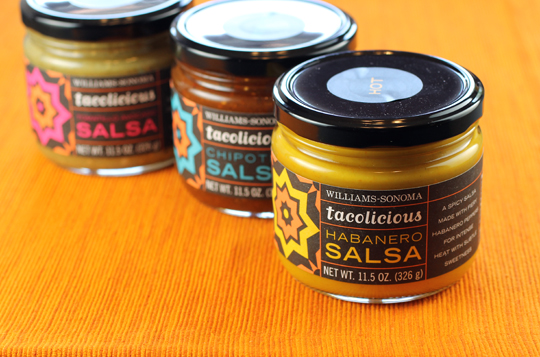 A trio of salsas from Tacolicious.