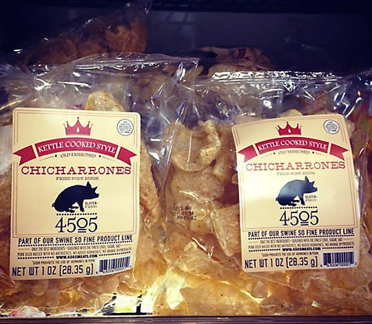 Chicharrones got a whole lot more decadent. (Photo courtesy of 4505 Meats)