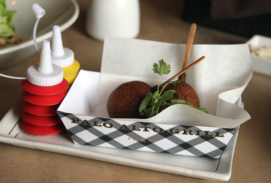 Avocado corn dogs get cute.