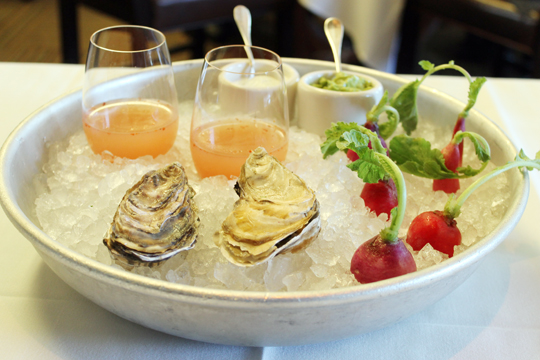 Oysters and more.