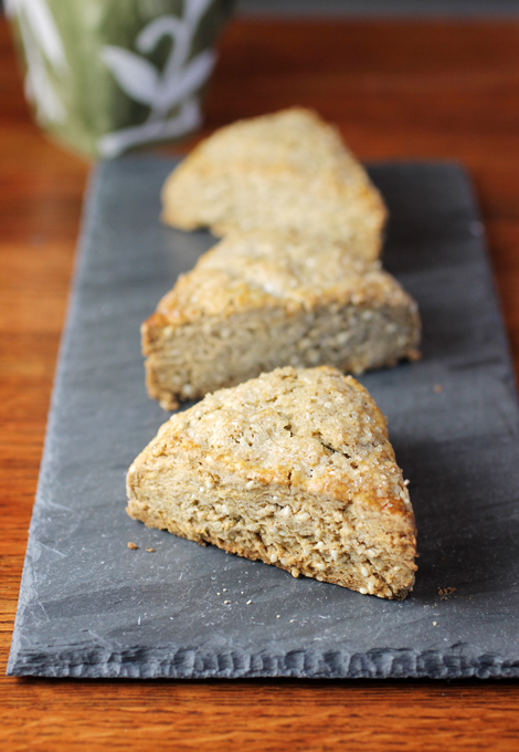 Nothing can keep me from baking a batch of these scones.