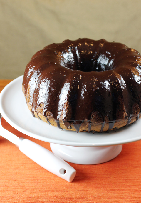 Sweet potatoes make this cake really moist.