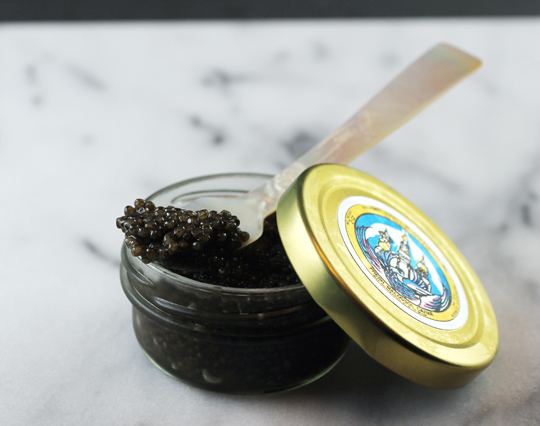 Spoon up some French caviar.