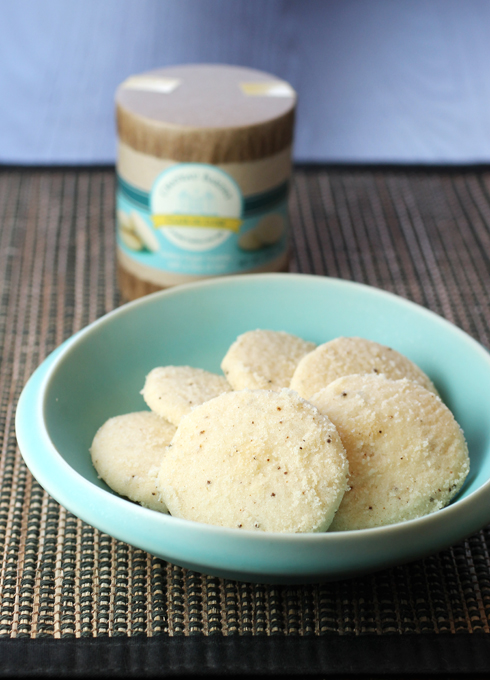 Sweet, delicate and buttery Clair de Lune cookies.